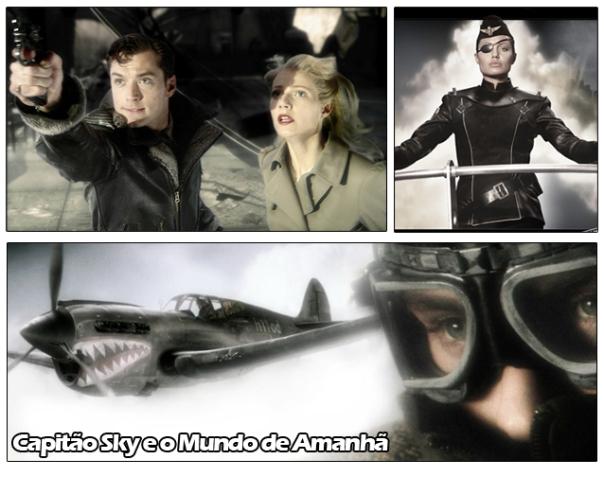 Capitão Sky e o Mundo de Amanhã, um filme com características dieselpunks